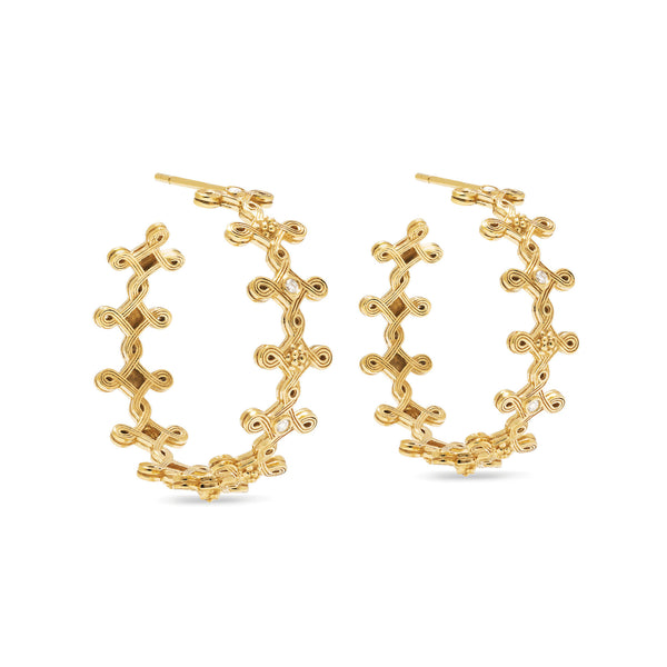 Monique Hoop Earrings