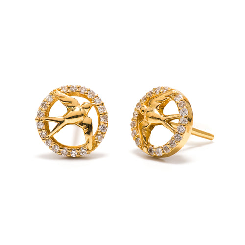 Songbird Stud Earrings