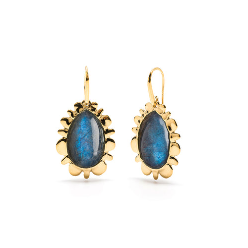 Bliss Drop Earrings, Midnight Blue