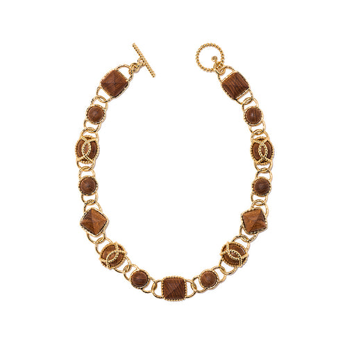 "Blandine 18"" Necklace, Teak"