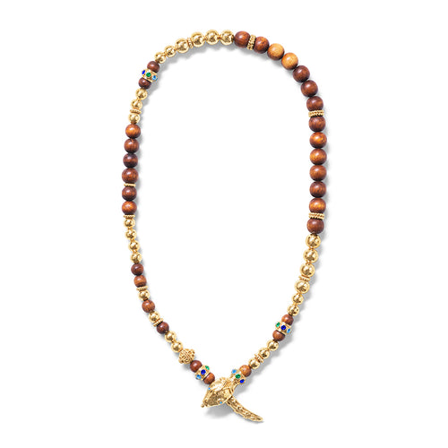 Serpentina Lariat Necklace, Jeweled