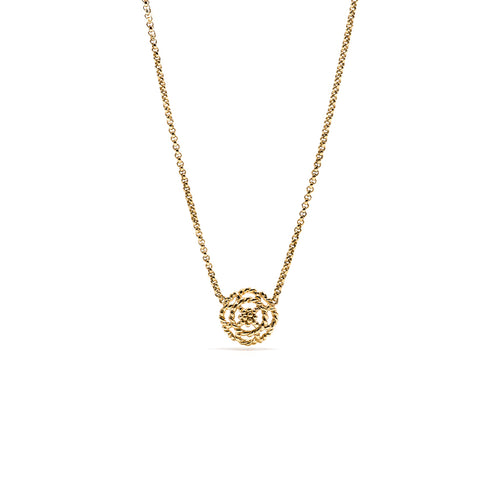 Capucine Petite Charm Necklace, Gold