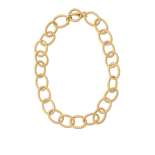 "Grand Victoria Rope Link 18"" Necklace, Gold"