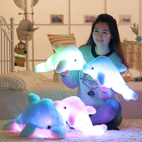 LED Plush Dolphin