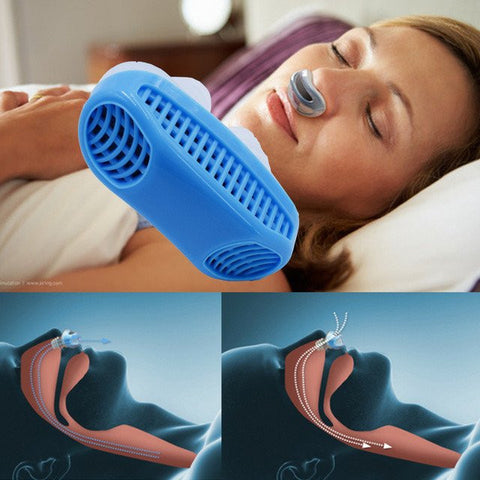 Snore-Stopper Air Purifying Apparatus