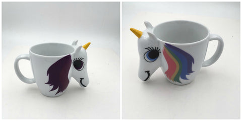 """Magic Unicorn Mug"" Color Changing Ceramic Mug"