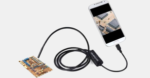 Smartphone Waterproof Endoscope Inspection Camera (Android / iOS)