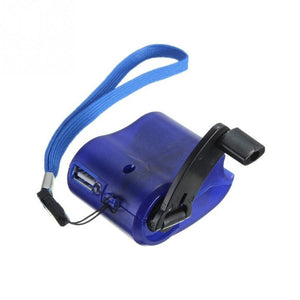 Emergency Hand Crank USB Charger
