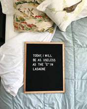 16x20 Black Felt Letter Board - Mcleod Letter Co.