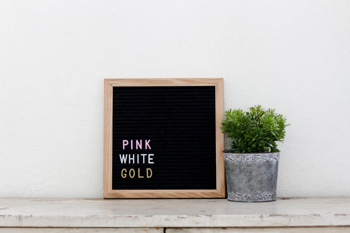 10x10 Black Felt Letter Board - Mcleod Letter Co.