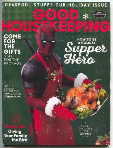 Good Housekeeping Magazine Deadpool Variant Thanksgiving