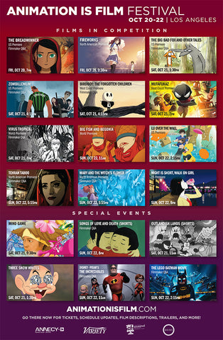 Animation Is Film Festival One Sheet