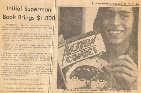 Action_Comics_1_Sold_1973_Los_Angeles_Newspaper