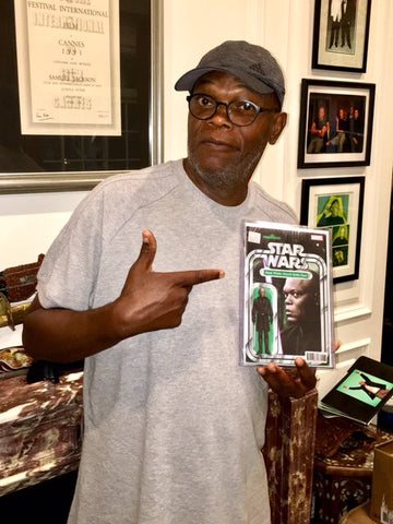 Mace Windu Action Figure Samuel L Jackson