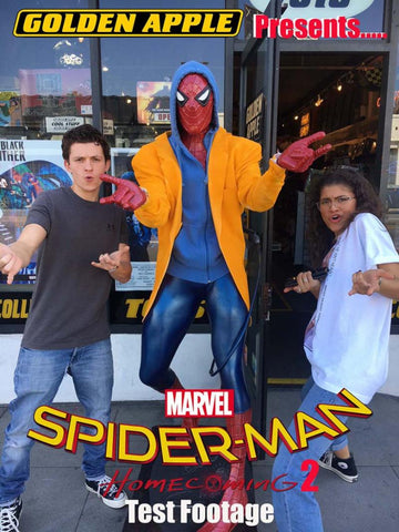Tom Holland Zendaya Golden Apple Comics Spider-Man