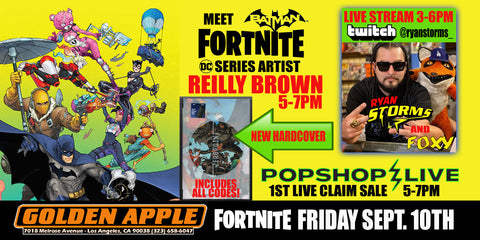 FORTNITE Friday with DC Comics Artist REILLY BROWN and