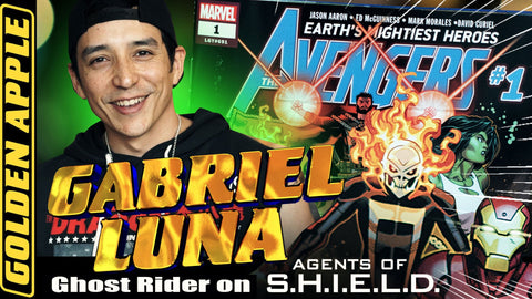 Golden Apple Comics Gabriel Luna Avengers Signing