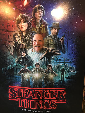 Golden Apple Halloween Comicfest Stranger Things II Poster