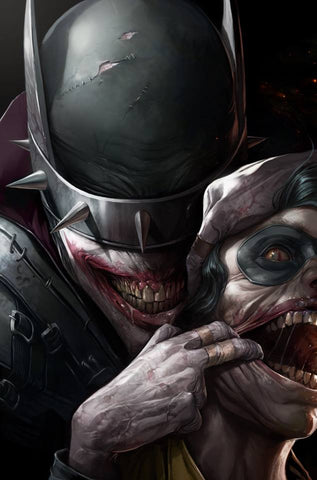 Dark Nights Metal 3 Francesco Mattina Batman Who Laughs