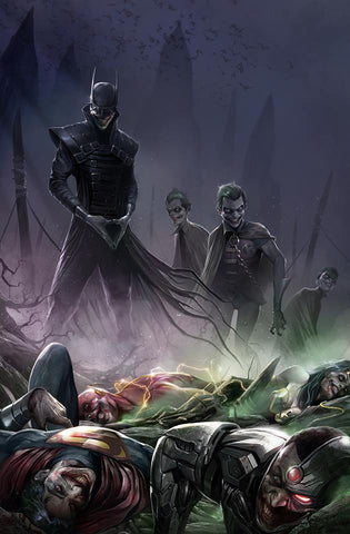 Dark Nights Metal 4 Francesco Mattina Variant