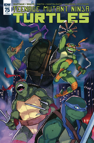 Teenage Mutant Ninja Turtles 75 TMNT Variant Signed