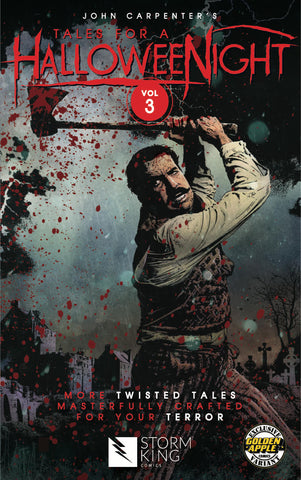 Tales For A Halloween Night Volume 3 Golden Apple Exclusive Bloody Variant