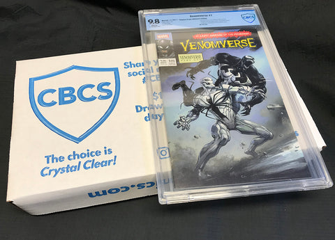 Venomverse 1 Clayton Crain Homage Amazing Spider-Man 361 Ultimate CBCS