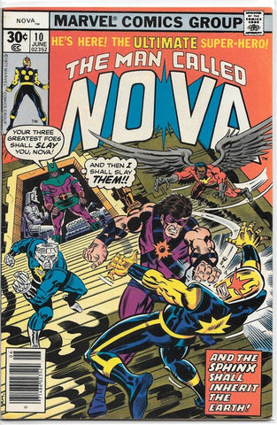 Man Called Nova 10 Marvel 1976