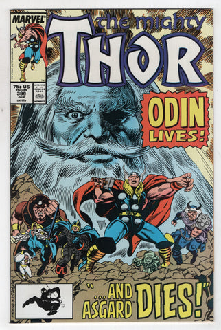Mighty Thor 399 Marvel 1989 NM Ron Frenz