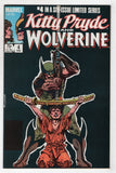 Kitty Pryde And Wolverine 4 Marvel 1985 NM Chris Claremont