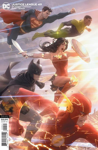 Justice League #49 B Alex Garner Variant (07/14/2020) DC