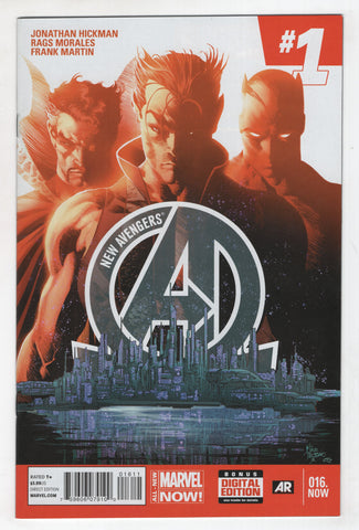 New Avengers 16 3rd Series Marvel 2014 NM Mike Deodato Jonathan Hickman 16.NOW