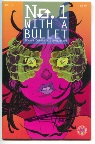 No. 1 With A Bullet 1 Image 2017 NM Signed Jacob Semahn Golden Apple Comics LTD 50