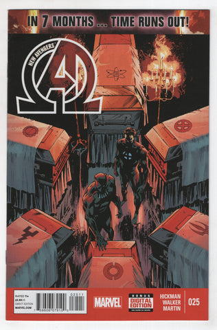 New Avengers 25 3rd Series Marvel 2014 NM Butch Guice Jonathan Hickman