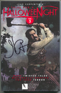 Tales For A Halloween Night Vol 3 Storm King 2017 NM Signed John Carpenter