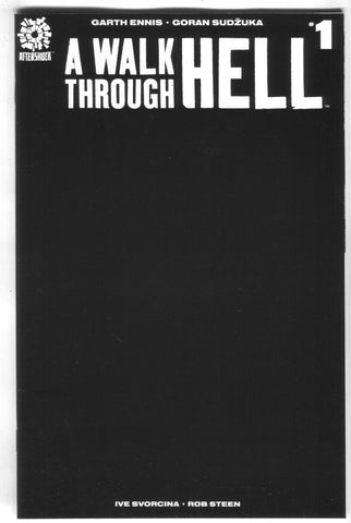 WALK THROUGH HELL #1 Goran Sudzuka All Black Variant (05/16/2018)