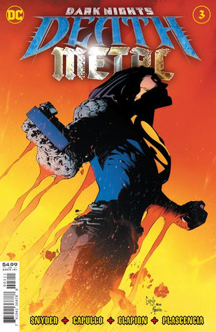 Dark Nights Death Metal #3 A (Of 6) Greg Capullo Scott Snyder (08/12/2020) DC