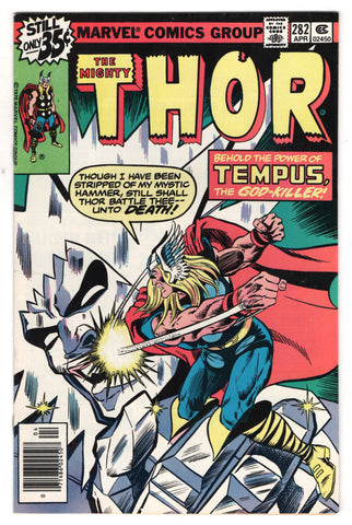 Mighty Thor 282 Marvel 1979 VF Avengers