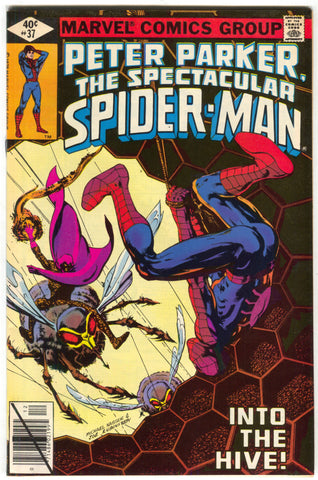 Spectacular Spider-Man 37 Marvel 1979 FN VF Swarm Bees Honeycomb