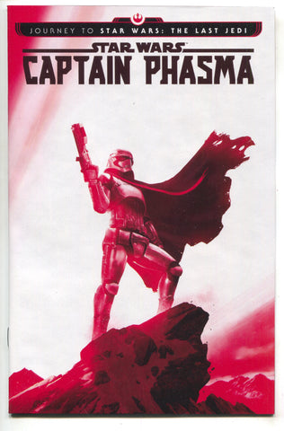 Star Wars Captain Phasma 1 Marvel 2017 NM Rahzzah Variant Journey Last Jedi