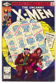 Uncanny X-Men 141 Marvel 1981 FN Days Of Future Past 1st Rachel Summers