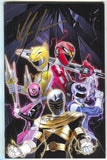 Mighty Morphin Power Rangers Annual 1 2018 1:10 Dan Mora Signed Kyle Higgins Shattered Grid