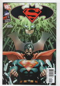 Superman Batman 64 DC 2009 NM Bat Armor