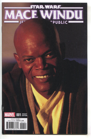 Star Wars Jedi Republic Mace Windu 1 1:10 Samuel Jackson Movie Photo Variant