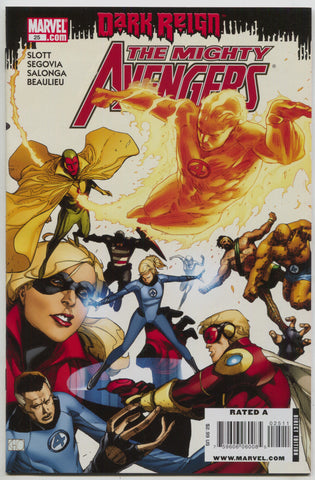 Mighty Avengers 25 Marvel 2009 NM KHOI PHAM