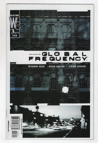 Global Frequency 3 Wildstorm 2003 NM Brian Wood Warren Ellis