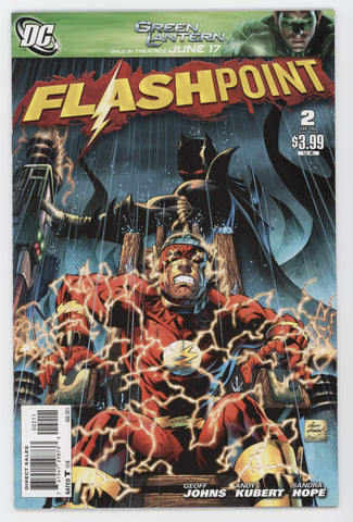 Flashpoint #2 A DC 2011 NM- ANDY KUBERT GEOFF JOHNS Flash