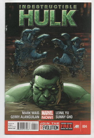 Indestructible Hulk #4 A Now Marvel 2013 Leinil Francis Yu Mark Waid