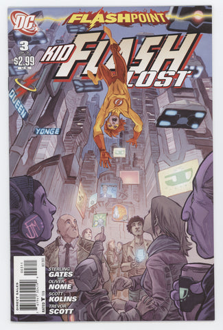 Flashpoint Kid Flash Lost #3 (Of 3) DC 2011 FRANCIS MANAPUL STERLING GATES