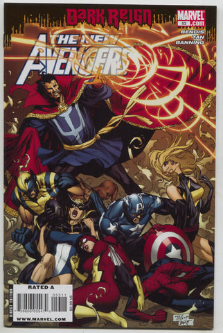New Avengers 53 A Marvel 2009 NM Dark Reign 1st Brother Voodoo Doctor Strange